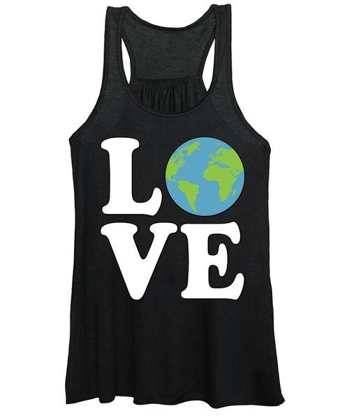 Love Earth Women's Tank Top