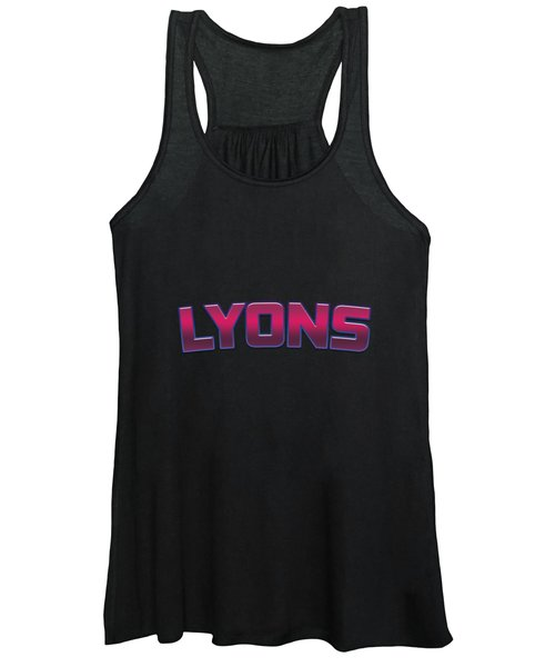 Lyons #lyons Women's Tank Top