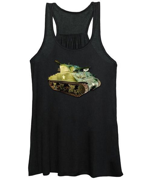 M4 Sherman Tank 2 Women's Tank Top