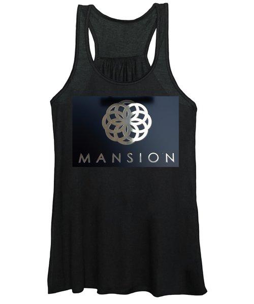 Colours. Mansion Black Women's Tank Top
