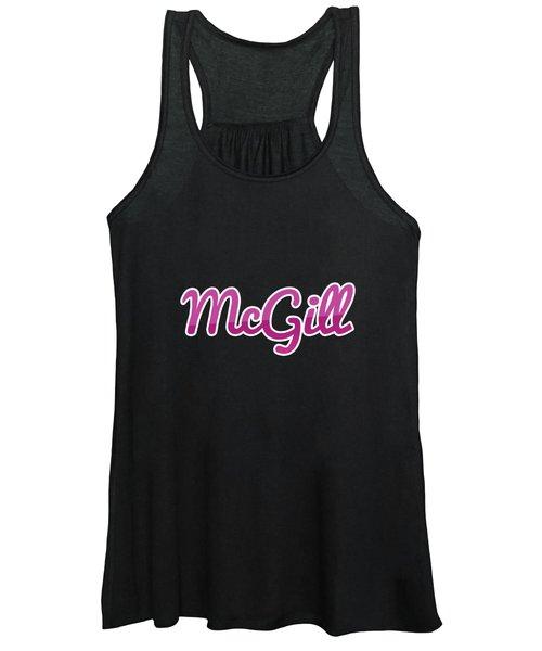 Mcgill #mcgill Women's Tank Top