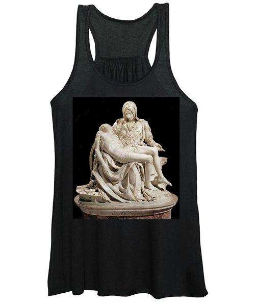 Michelangelo La Pieta Women's Tank Top