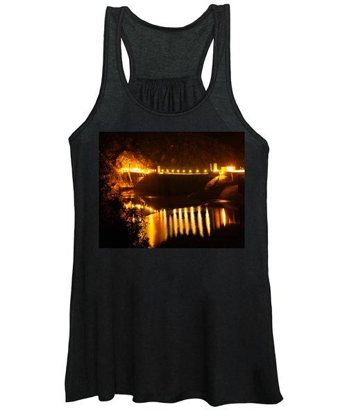 Moonlit Dam Women's Tank Top