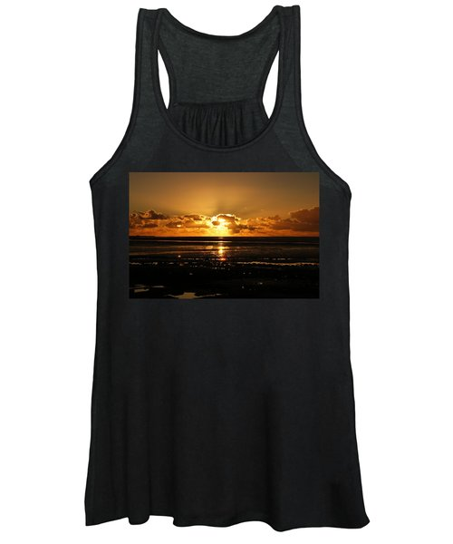 Morecambe Bay Sunset. Women's Tank Top