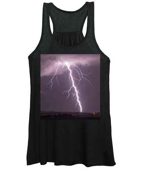 Nebraska Arcus And Lightning 046 Women's Tank Top