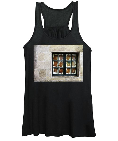 Women's Tank Top featuring the photograph Parchment Panes by Rick Locke