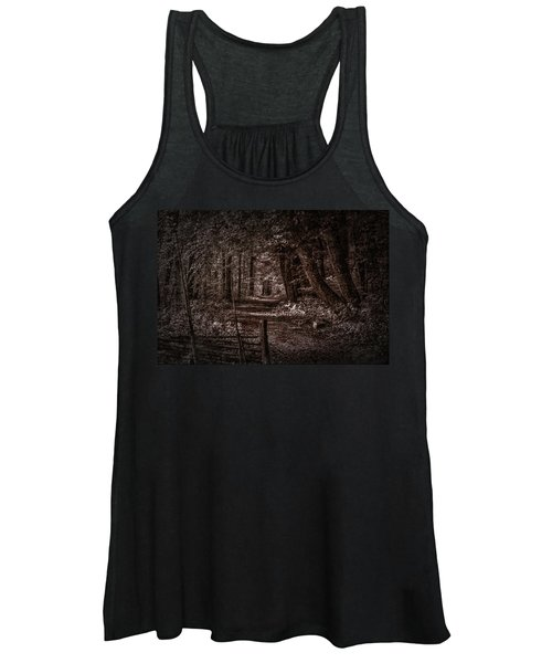 Path In Forest #i0 Women's Tank Top