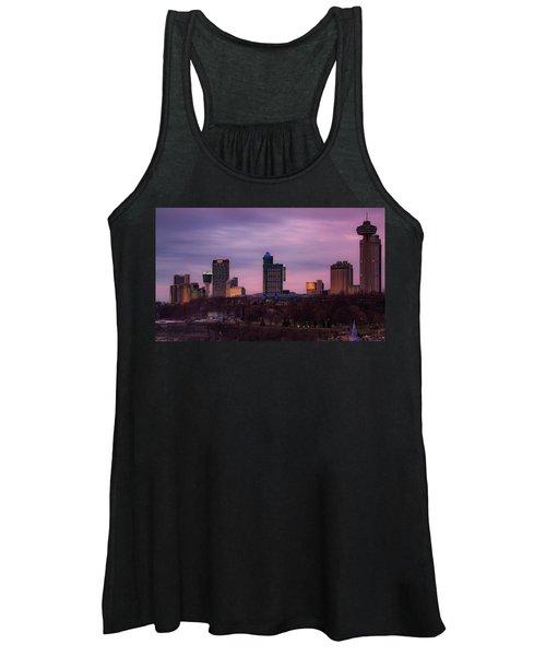 Purple Haze Skyline Women's Tank Top