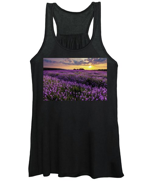 Purple Sea Women's Tank Top