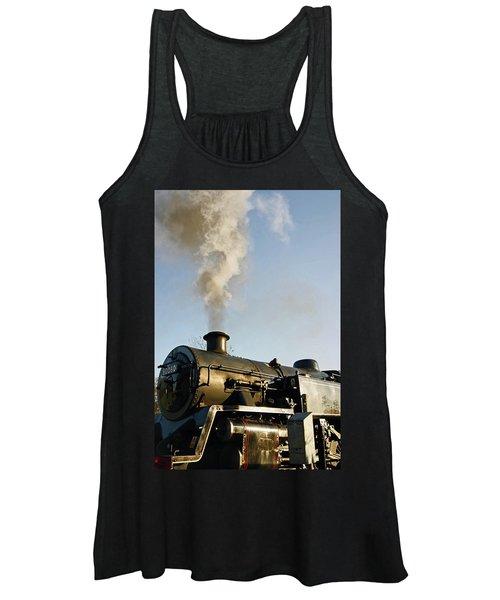 Ramsbottom. East Lancashire Railway. Locomotive 80080. Women's Tank Top