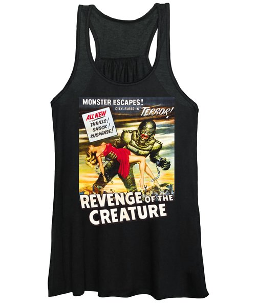 Revenge Of The Creature Movi Poster Women's Tank Top