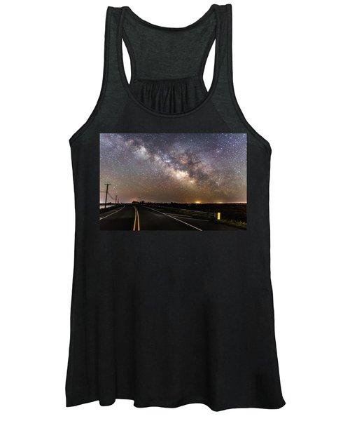 Road To Milky Way Women's Tank Top