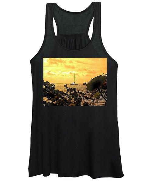 Sail The Manatee River Women's Tank Top