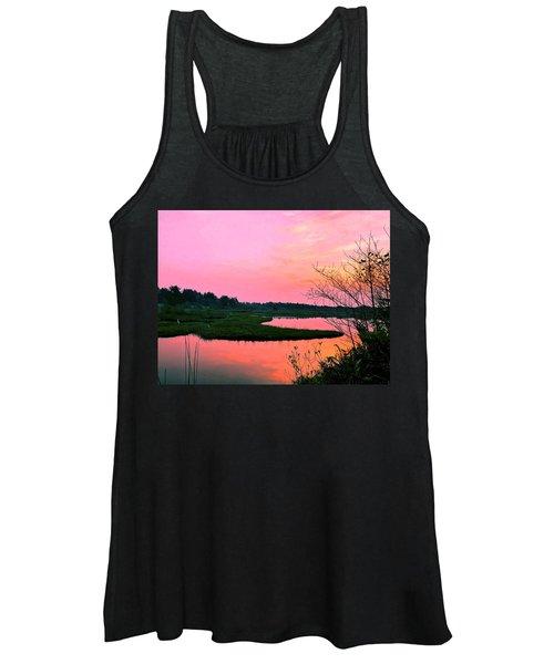 Sitka Sedge Sunset Women's Tank Top