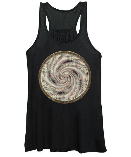 Spinning A Design For Decor And Clothing Women's Tank Top