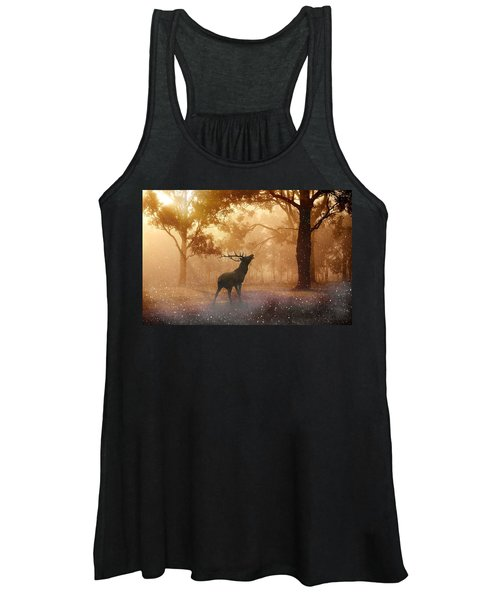 Stag In The Forest Women's Tank Top