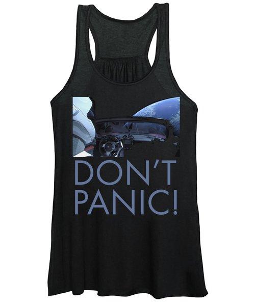 Starman Don't You Panic Now Women's Tank Top