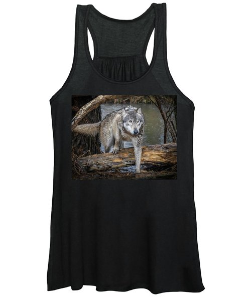 Stepping Over Women's Tank Top