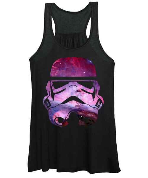 Storm Trooper Nebula Women's Tank Top