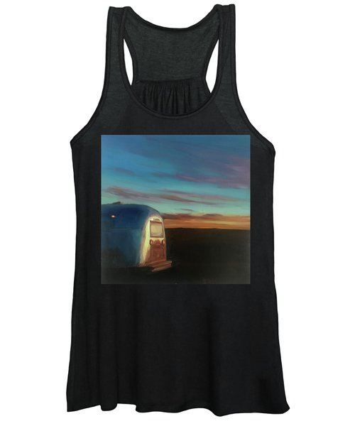 Sunrise Near Amarillo Women's Tank Top