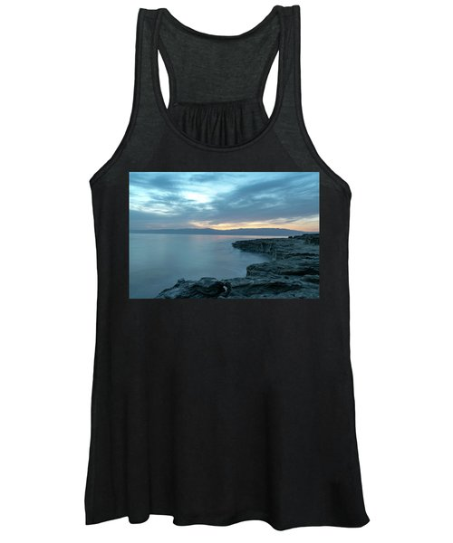 Before Dawn At The Dead Sea Women's Tank Top