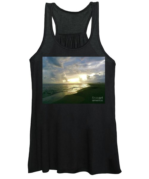 Sunset At The Beach Women's Tank Top