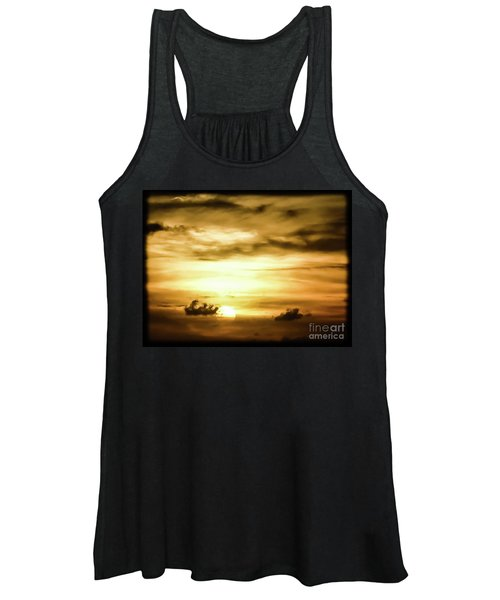 Sunset On The Pacific Ocean Women's Tank Top