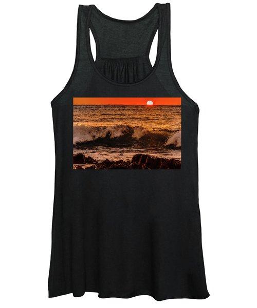 Sunset Wave Women's Tank Top