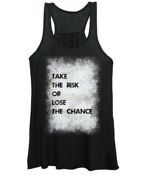 Take The Risk Women's Tank Top