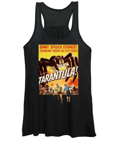 Tarantula Movie Poster Women's Tank Top