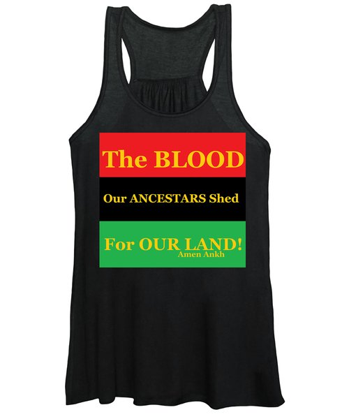 The Blood Women's Tank Top