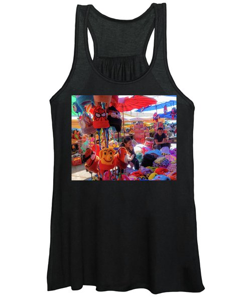 The Colours Of Childhood Women's Tank Top