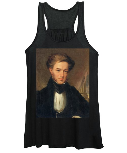 Portrait Of Thomas Ustick Walter, 1835 Women's Tank Top