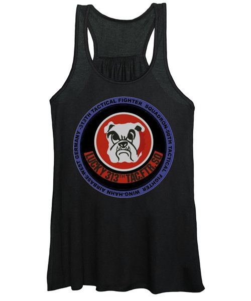 The 313th Tactical Fighter Squadron Women's Tank Top