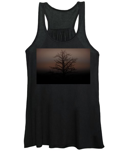 Tree Silhouette  Women's Tank Top