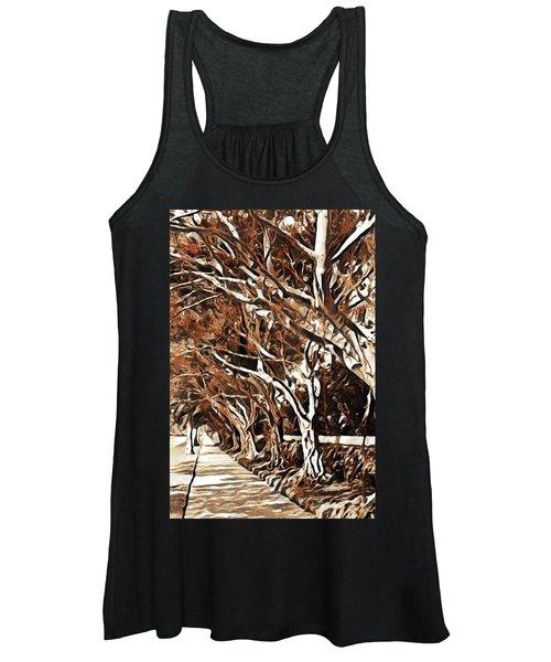 Treelined Women's Tank Top
