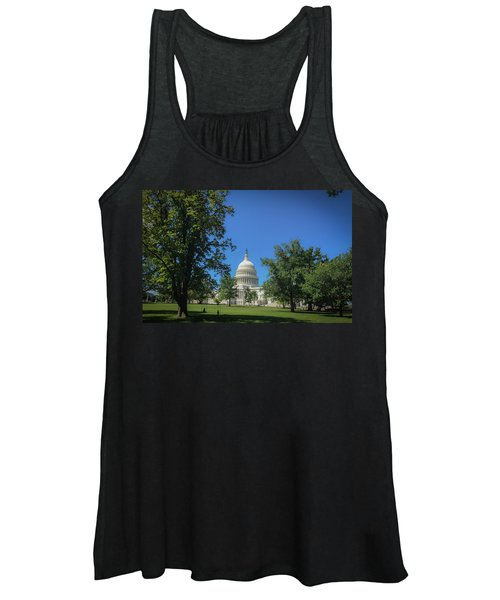 Us Capitol Women's Tank Top