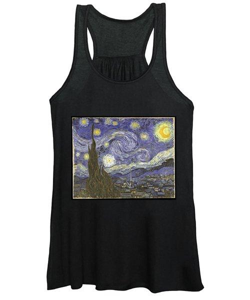 Van Goh Starry Night Women's Tank Top