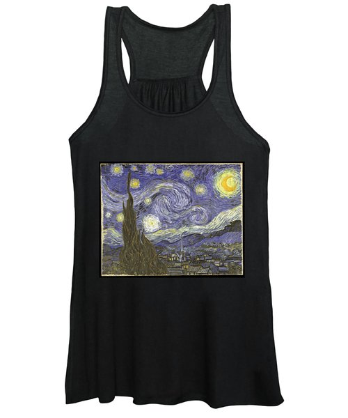 Van Goh Starry Night Women's Tank Top