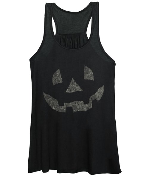 Vintage Pumpkin Face Women's Tank Top