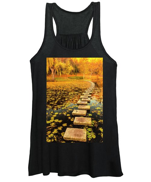 Way In The Lake Women's Tank Top