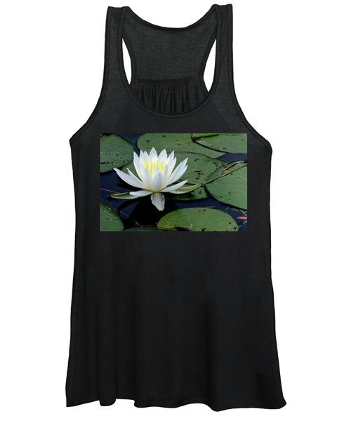 White Water Lilly Women's Tank Top