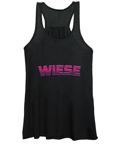 Wiese #wiese Women's Tank Top