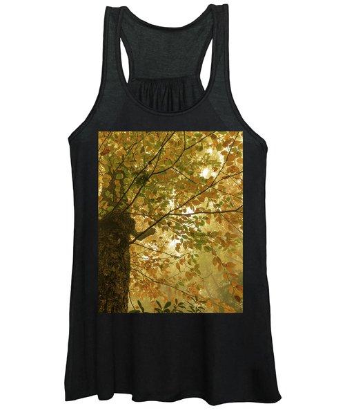 Yellow Fall Leaves - Blue Ridge Parkway Women's Tank Top