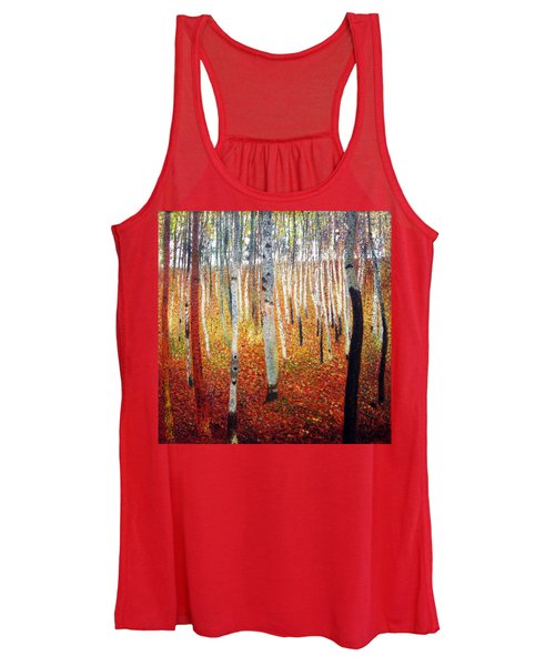 Forest Of Beech Trees Women's Tank Top