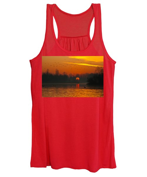 Morning Over River Women's Tank Top
