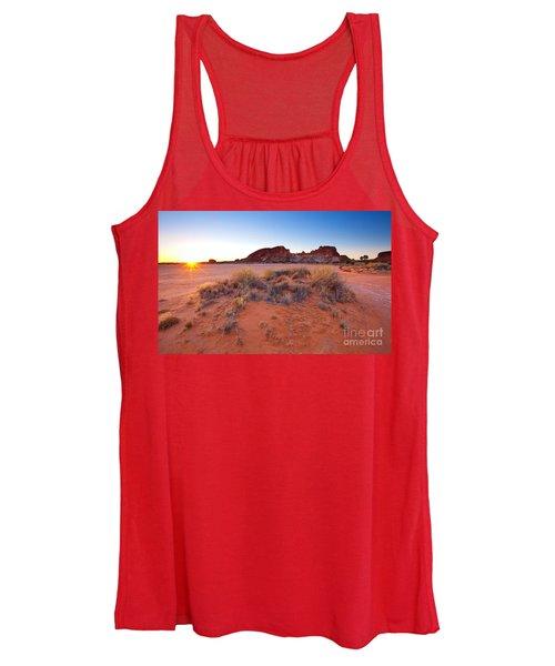 Rainbow Valley Sunrise Women's Tank Top