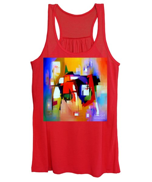 Abstract Series Iv Women's Tank Top