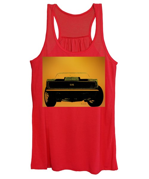 1968 Camaro Ss Head On Women's Tank Top