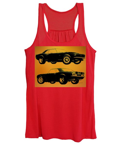 1968 Camaro Ss Side View Women's Tank Top